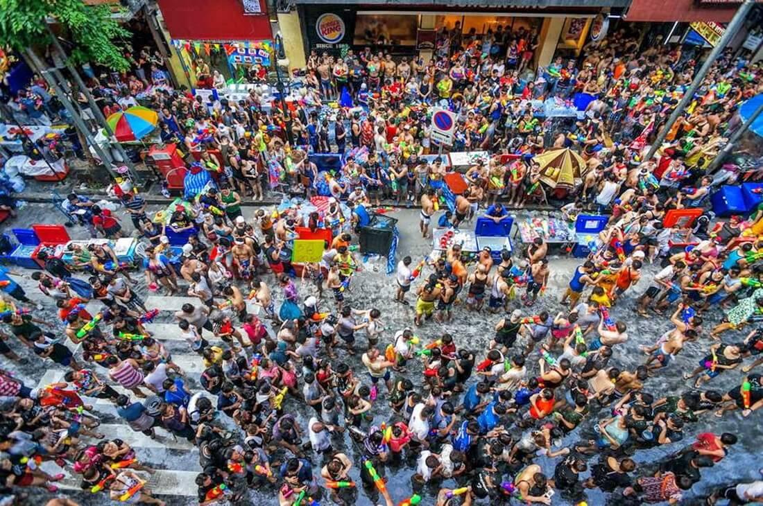 Image result for lễ hội nước ở pattaya