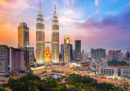 Petronas Towers, also known as Menara Petronas is the tallest buildings in the world from 1998 to 2004.